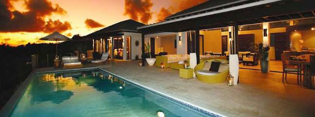 AVAILABLE CHRISTMAS & NEW YEARS: Anguilla Villa 16 Sitting On The South Shore, Anguilla Villa 16 Commands Stunning Views Of The Secluded Cove Beach And The Mountains Of St. Martin. - Image 1 - Little Harbour - rentals