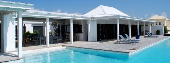 SPECIAL OFFER: Anguilla Villa 18 Below The Swimming Pool Overflow, A Small And Separate Sundeck, Overlooking The Sea, Will Guarantee Your Privacy. - Anguilla vacation rentals