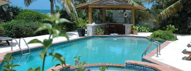 AVAILABLE CHRISTMAS & NEW YEARS: Anguilla Villa 109 Magnificent Freshwater Pool And Whirlpool With Waterfall Splash-over Rest Literally On The Rugged Coastline Of Anguilla. - Little Dix vacation rentals