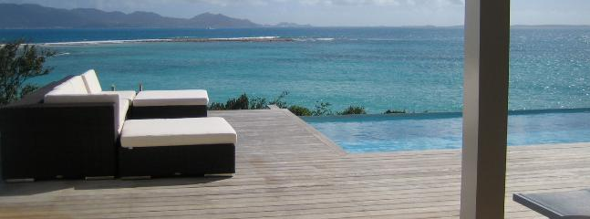SPECIAL OFFER: Anguilla Villa 106 Below The Swimming Pool Overflow, A Small And Separate Sundeck, Overlooking The Sea, Will Guarantee Your Privacy. - Blowing Point vacation rentals