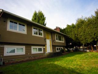 Spacious RENOVATED suite with private laundry - Coquitlam vacation rentals