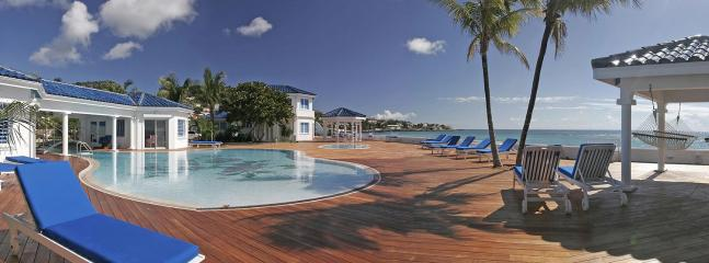 Witenblauw Estate at Pelican Key, Saint Maarten - Directly On The Beach, Sunrise View - Image 1 - Pelican Key - rentals