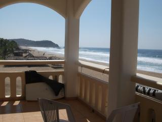 Beachfront in Zipolite - Central Mexico and Gulf Coast vacation rentals