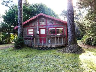 Dog-friendly, romantic cottage in the woods near beach! - Yachats vacation rentals