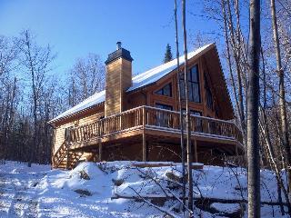 Splendid log cabin at Mt-Tremblant (sleeps 9) - Mont Tremblant vacation rentals