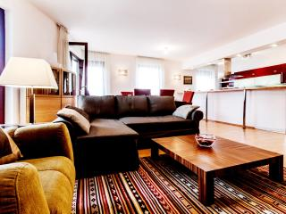 90m2 sup. 2 bedroom ap. with A/C and WI-FI CITY12 - Budapest vacation rentals