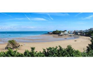 9 CROFT HOUSE, second floor apartment overlooking the beach, WiFi, shared garden with furniture across road, in Tenby, Ref 917887 - Tenby vacation rentals