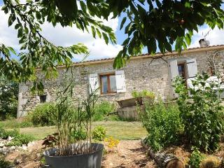 Countryside stone b&b cottage with pool and views. - Loubes-Bernac vacation rentals