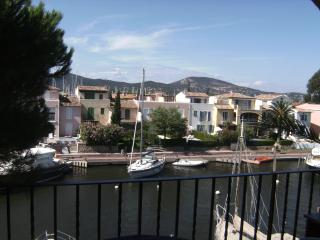 Nice Condo with Shared Outdoor Pool and Television - Port Cogolin vacation rentals