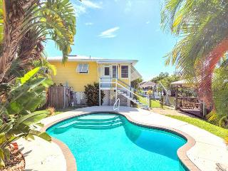 Paradise on Third, Canal Front, Private Heated Pool, Boat Dock - Fort Myers Beach vacation rentals
