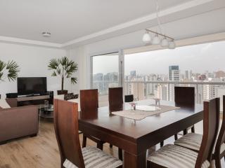 Bright 3 Bedroom Apartment in Vila Olimpia - Sao Paulo vacation rentals