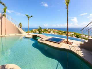 Seascape Villa in St. Martin with Private Infinity Pool and Ocean Views - Oyster Pond vacation rentals