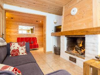Three bedroom chalet duplex with open fireplace - Chamonix vacation rentals