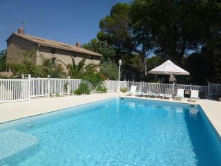 5 Bed Modern Farmhouse in Rural Setting with Pool - Espondeilhan vacation rentals