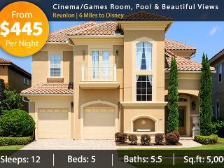 Over $1 Million Worth of Elegant Home With Cinema/Games Room, Pool & Beautiful Views - Reunion vacation rentals