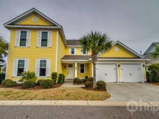 Marsh View! Luxury 4 BR 4.5 BA North Beach Plantation Cottage. Sleeps 12. Olde Mill Lane 570 - Myrtle Beach - Grand Strand Area vacation rentals