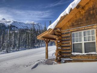 Cozy Slopeside Ski-In Ski-Out Cabin with Private Hot Tub - Big Sky vacation rentals