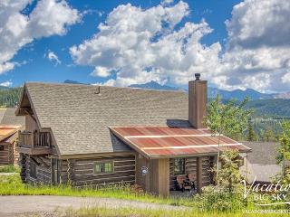 Ski & Stay FREE Night Promo in 4 Bedroom Ski-In Ski-Out Powder Ridge Cabin - Big Sky vacation rentals