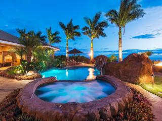 Luxury Home with Magnificent Pool! Sweeping 180 Degree Ocean Views! - Lahaina vacation rentals