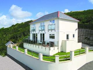 LOOE ISLAND VIEW spectacular sea views, full-length terrace, raised deck in - Downderry vacation rentals