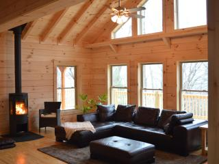 The Chalet at Winghaven,  sunny, new log home - Fletcher vacation rentals