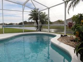 Private pool South/West facing overlooking pond. 4 bed home - Kissimmee vacation rentals