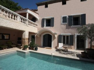 La Saga - Beautifully Converted 18th C. Barn - 6 Bedroom with Private Pools and Hot Tub - Cabrieres-d'Avignon vacation rentals