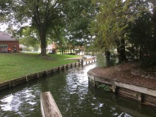 Waterfont  5/3/2, private, boat slip and golf cart - Montgomery vacation rentals