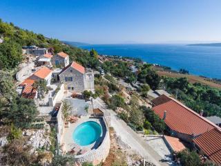 Luxury Seaside Villa w/Pool on Hvar Island - Zavala vacation rentals