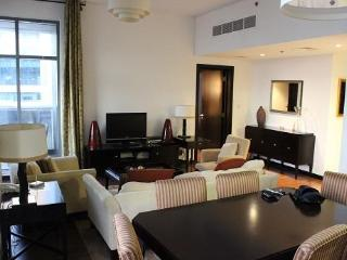 Spacious, modern one bedroom apartment at metro - Dubai vacation rentals