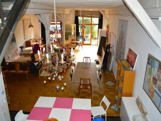 Artist Spectacular/Huge Atelier Loft with Garden - Paris vacation rentals