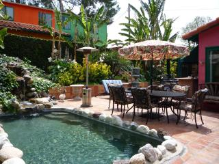 *SPANISH HACIENDA celebrity estate guest house. Gated/.resort/pet/spa/pool/BBQ - Los Angeles vacation rentals