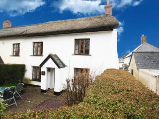 17C thatched cottage in village with great pub - Kings Nympton vacation rentals