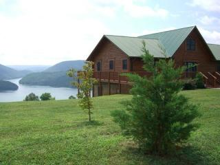 A roomy and comfortable lakeview cabin rental with covered boat slip, hot tub, Wi-Fi and Game Tables. - La Follette vacation rentals