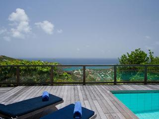 Quiet villa surrounded by spectacular tropical gardens & breathtaking view WV TDC - Vitet vacation rentals