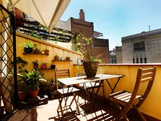 Family 3 bedr. apartm.next to the Ramblas - Barcelona vacation rentals