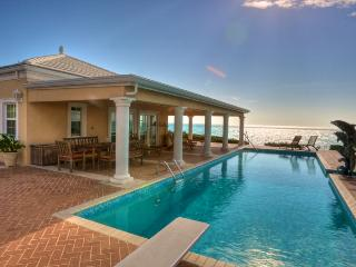 Three Dolphins Beachfront Tennis Villa/rent 4-12 bedrooms - Long Bay Beach vacation rentals