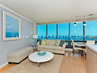 PRICE REDUCED!  Luxury condo with 2 Master Suites, panoramic ocean views! - Waikiki vacation rentals