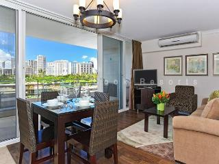 Heart of Waikiki! Modern 2 bedrooms, 1 bath - just a short walk to the beach! - Waikiki vacation rentals
