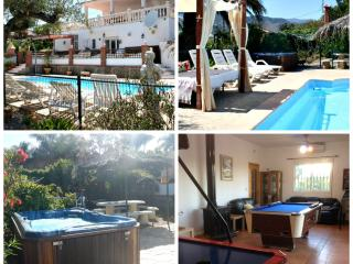 large villa sleeps 18 heated pool jacuzzi playpark - Estacion de Cartama vacation rentals