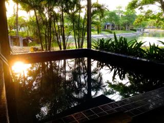 Seafront house with pool Rock Garden Beach E24 - Ban Laem Mae Phim vacation rentals