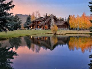 Sheep Meadows Lane 113, Ketchum - Log Home on a Riverside Property - Ketchum vacation rentals