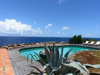 Cliffside retreat with expansive ocean views - Petit Cul de Sac vacation rentals