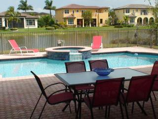 6800 sq.ft 7 Bedrooms 5 Bath Pool Spa Water View - Coral Springs vacation rentals