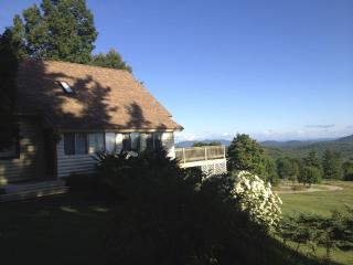 Exceptional Hillside Log Cabin Chalet - Western Maine vacation rentals