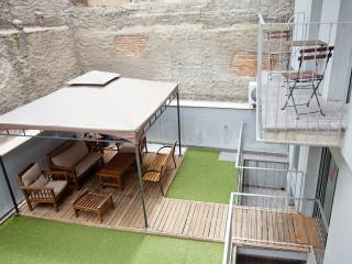Plaza España A Terrace Apartment. 10 people - Barcelona vacation rentals