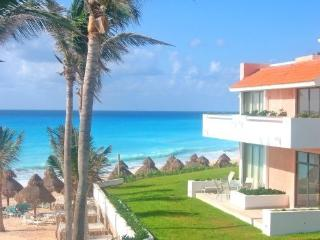 Luxury 3 Level Beachfront Villa - Cancun vacation rentals