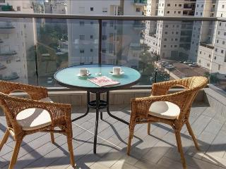 Stylish 3 bedroom Apartment - Blue Sky, Netanya  - BY01 - Netanya vacation rentals