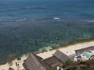 Million$ views from Surf Bungalows above beach - Pecatu vacation rentals