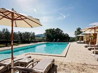 Historic Hillside Chateau de Villedieu with Pool & Tennis Court - Ideal for Large Groups - Loriol-du-Comtat vacation rentals
